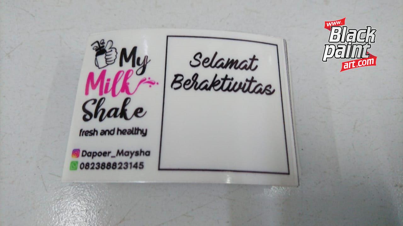 Ada banyak tempat percetakan yang menawarkan jasa cetak stiker di Pekanbaru. Ada begitu banyak tempat yang bisa anda pilih, dan salah satunya adalah Blackpaint Print Shop.